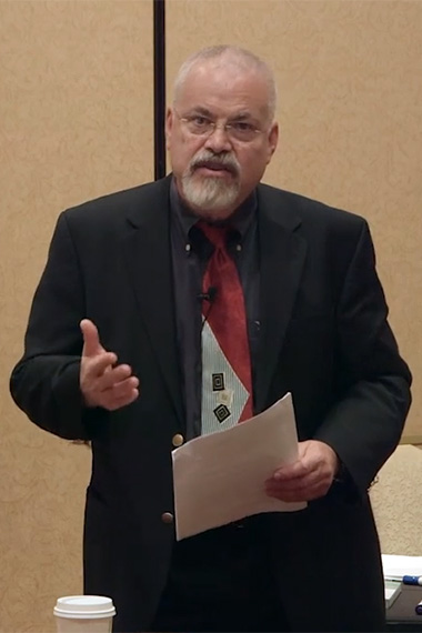 Dr. Bruce Eimer's hypnosis training session in Las Vegas